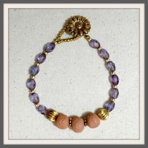 """Wisteria"" Aromatherapy Bracelet"