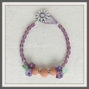 """""""Lady Lavender"""" Aromatherapy Bracelet"""
