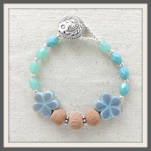 """""""Noelani"""" Aromatherapy Bracelet"""