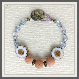 """Periwinkle"" Aromatherapy Bracelet"