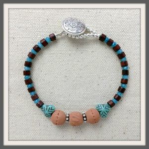 """Sweet As"" Aromatherapy Bracelet"
