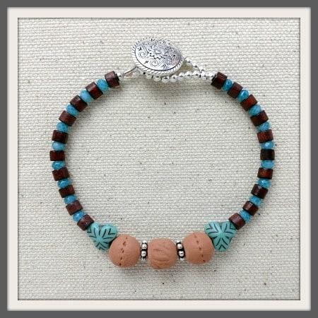 """Sweet As"" Aromatherapy Bracelet"