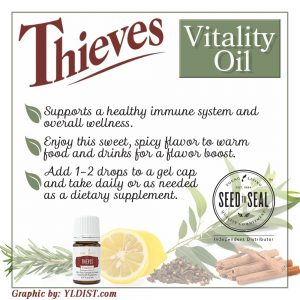 Thieves Vitality Oil can help you avoid getting sick