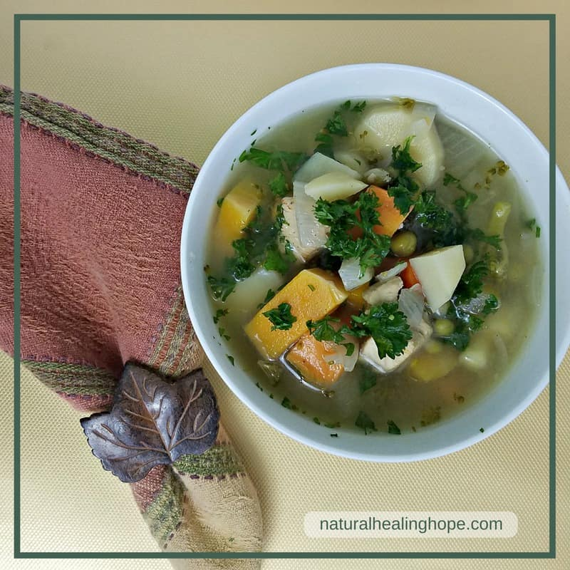 Natural Healing Chicken Soup Can Help You Avoid Getting Sick