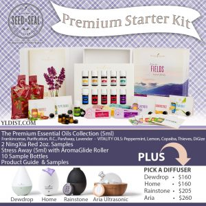 Young Living Premium Starter Kit of Essential Oils
