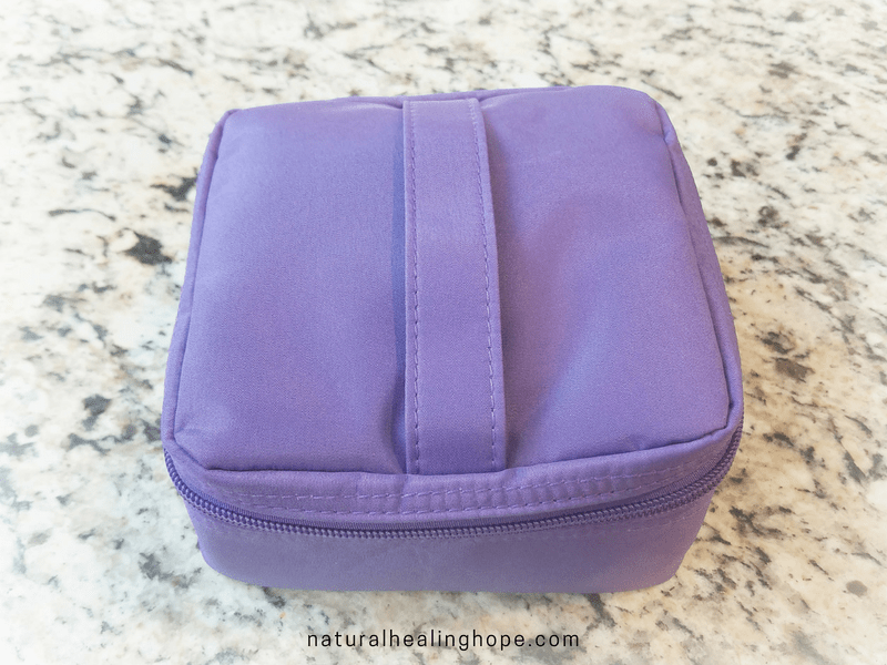 Essential Oil Case to Store 16 Oils- Closed