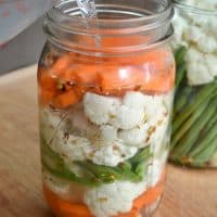 Easiest Fermented Pickled Vegetables Ever