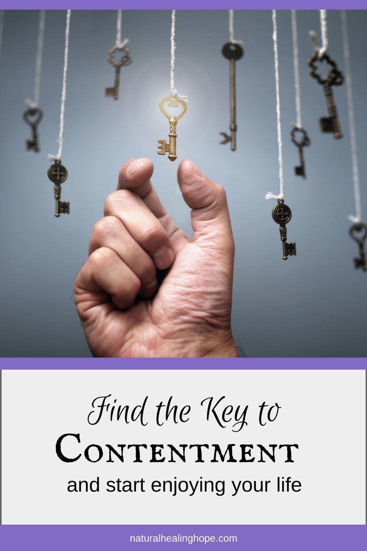 Find the Key to Contentment