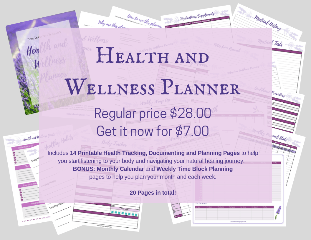 Health & Wellness Planner  Pricing and what all is included