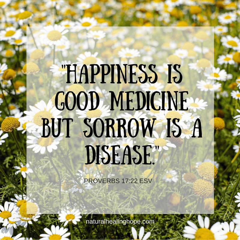 Happiness is Good Medicine