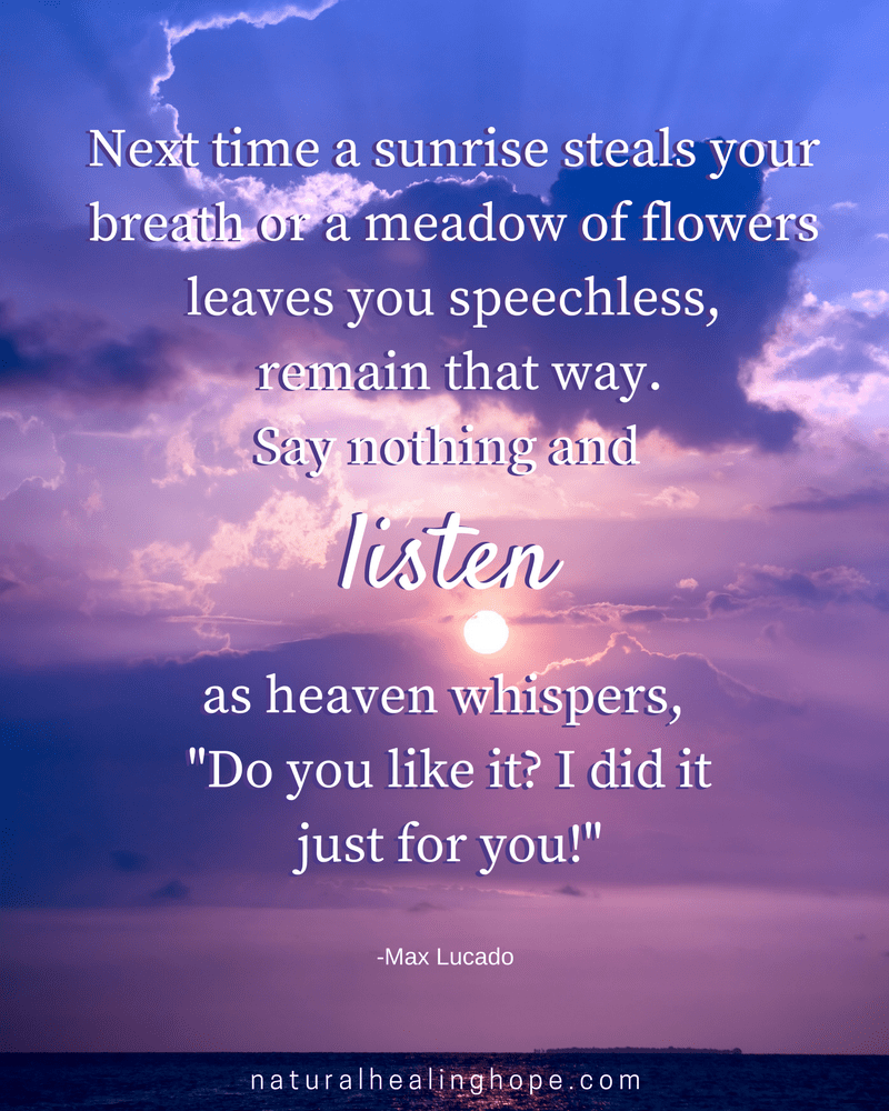 Just Listen Quote