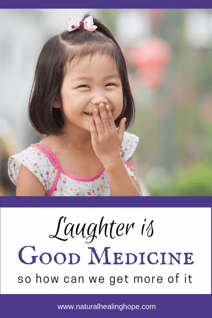 Laughter is Good Medicine- Pinterest Graphic