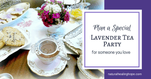 Lavender Tea Party Facebook Image
