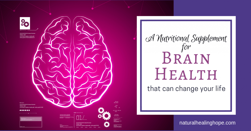A Nutritional Supplement for Brain Health that can change your life- Facebook Graphic