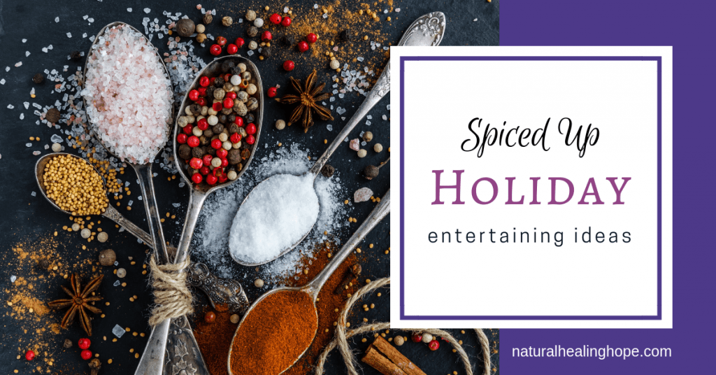 Spiced Up Holiday Entertaining Ideas- Facebook Graphic