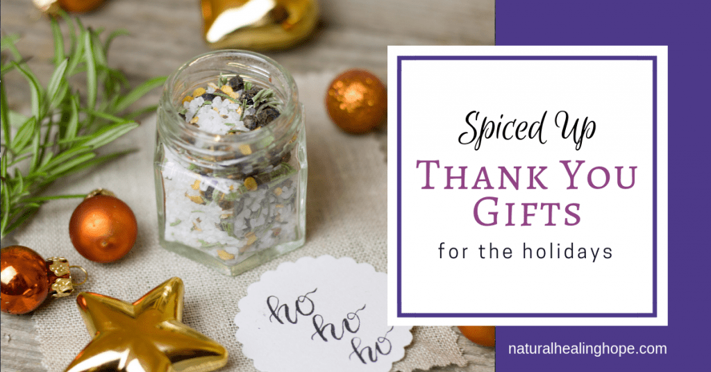 Spiced Up Thank You Gifts for the Holidays- Facebook Graphic