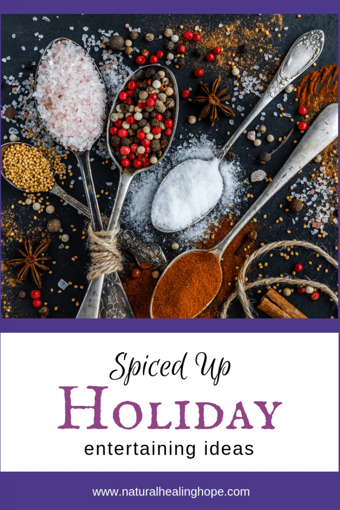 Spiced Up Entertaining Ideas- Pinterest Graphic
