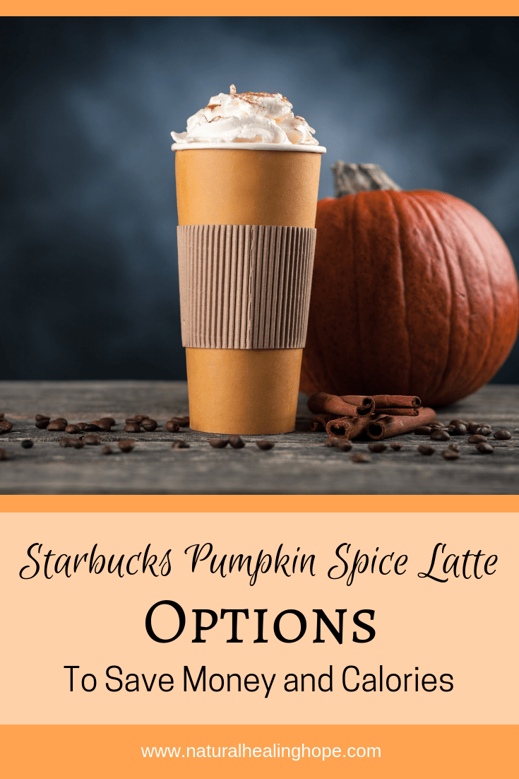 Starbucks Pumpkin Spice Lattes to save money and calories