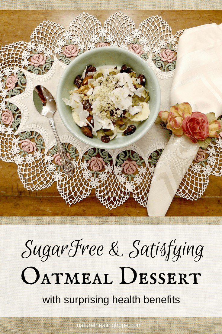 SugarFree&SatifyingOatmealDessert
