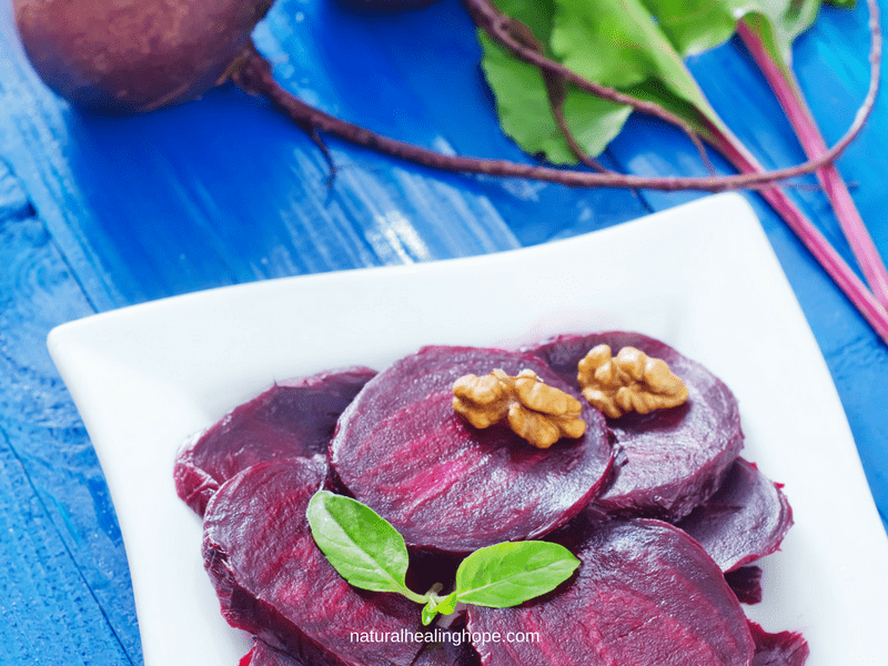 The health benefits of beets