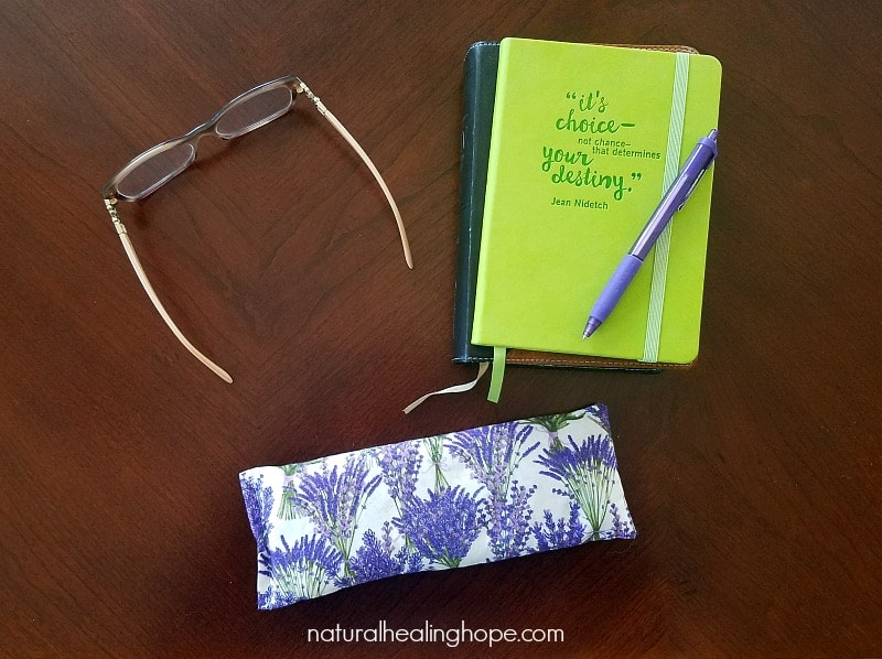 Bedtime Stuff with DIY Lavender Eye Pillow