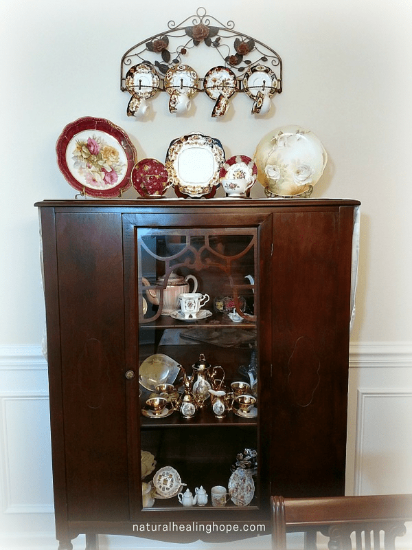 China Cabinet- Family Heirlooms