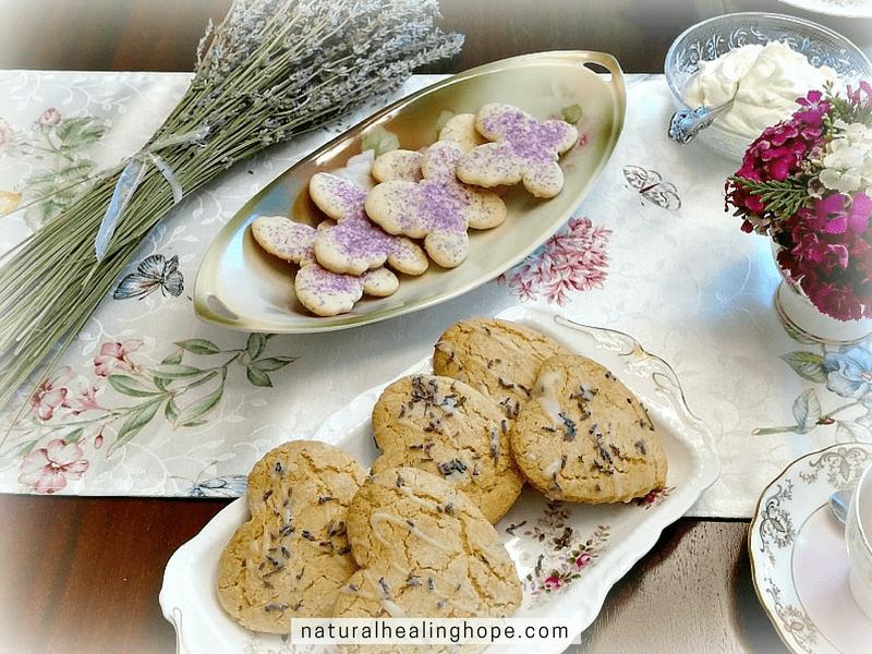 lavender tea party