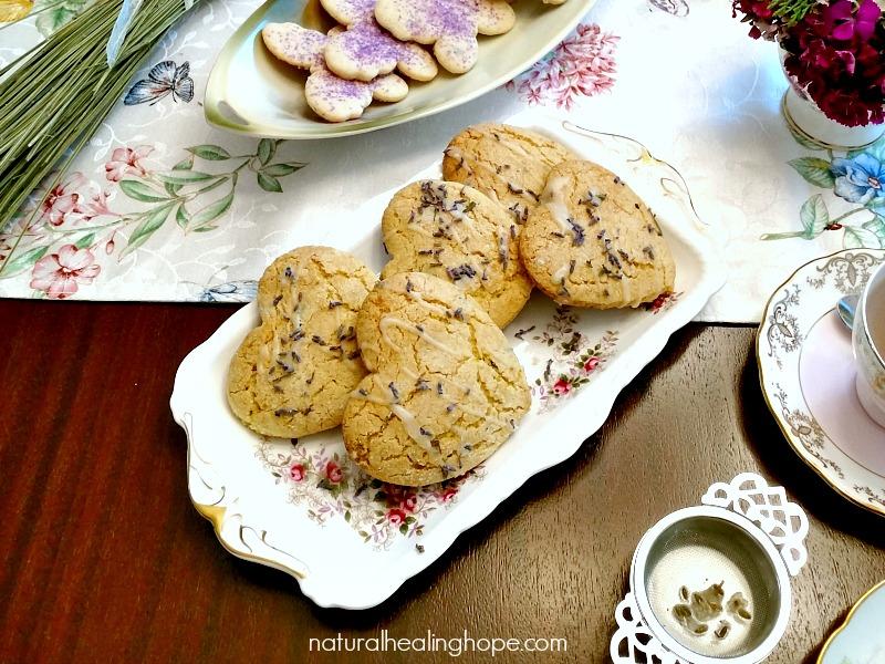 Gluten-Free Lemon Lavender Scones