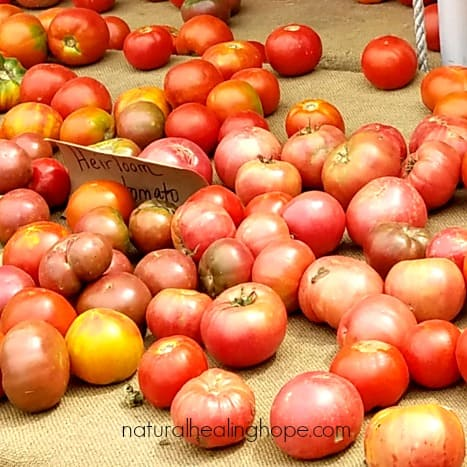 A Bountiful Supply of Summer Heirloom Tomatoes