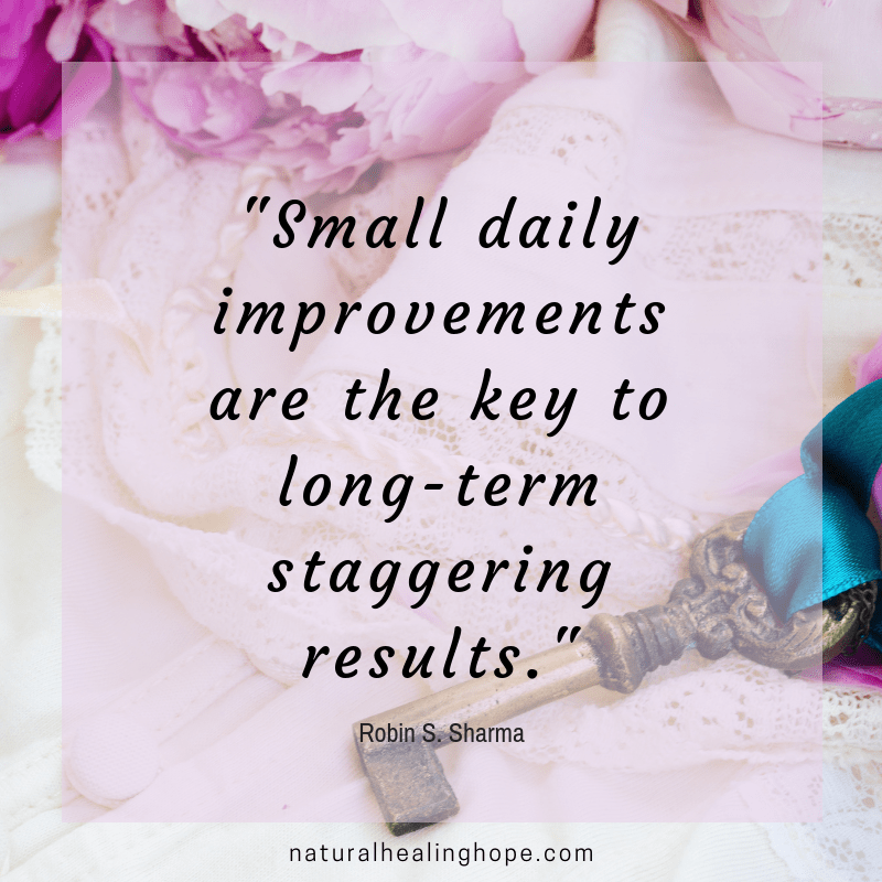"Quote: ""Small Daily Improvements are the Key to Long-Term Staggering Results"" by Robin S. Sharma"