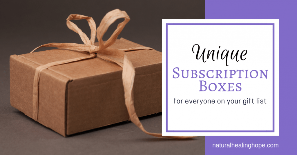 Unique Subscription Boxes for everyone on your gift list-facebook image