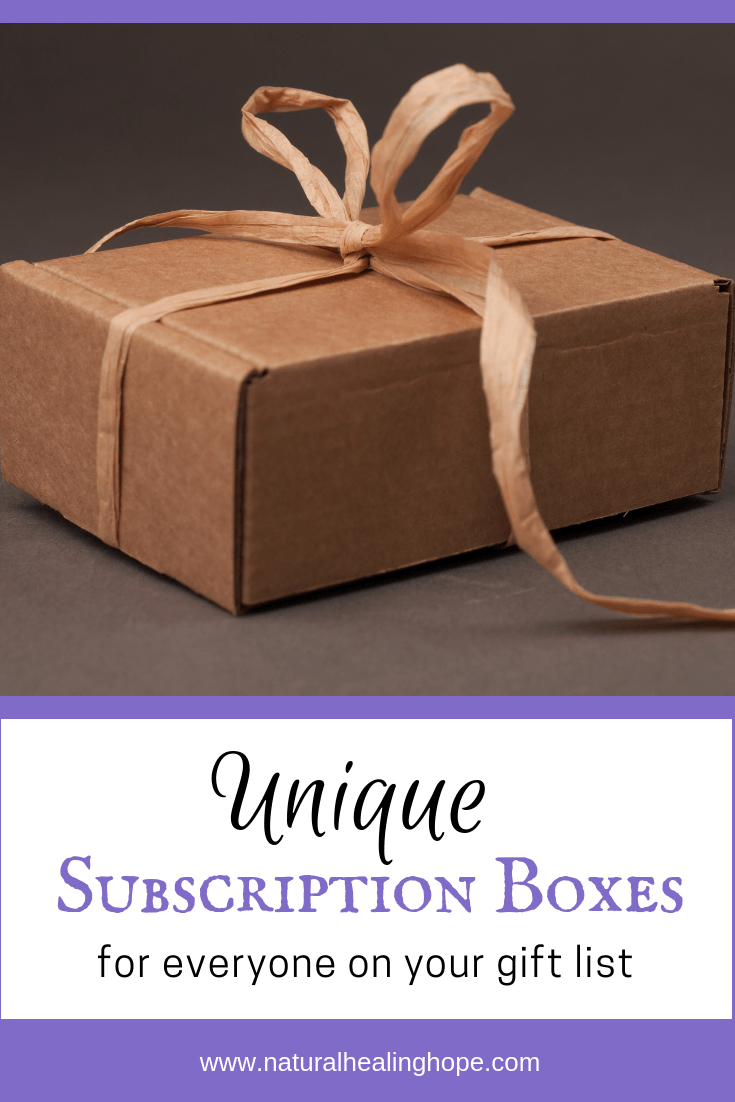 Unique Subscription Boxes for Everyone on your gift list-interest image